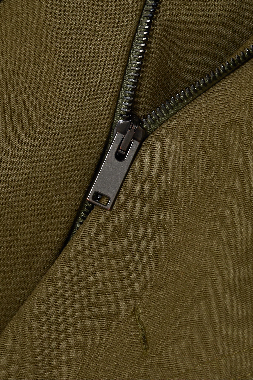 Stella McCartney Belted cotton-canvas jumpsuit