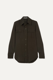 Stella McCartney Wool-twill shirt