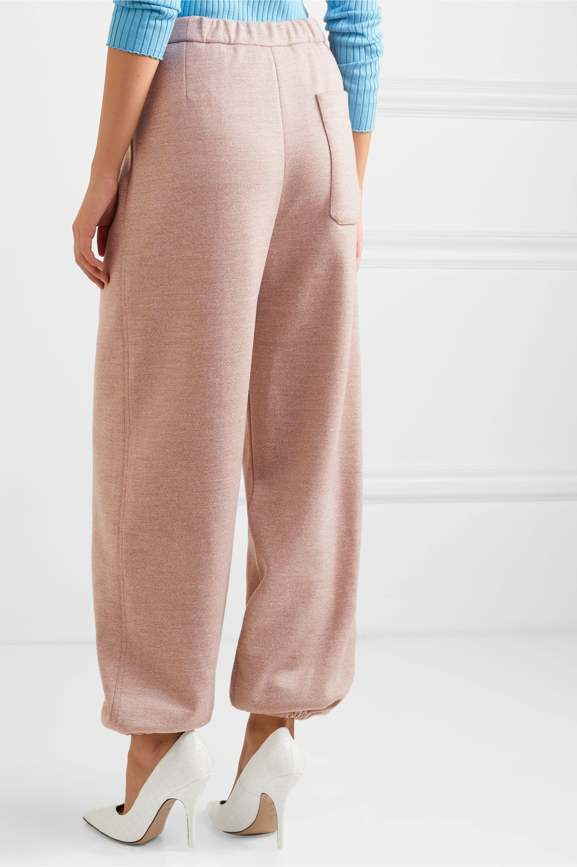 Roksanda Wool-jersey tapered pants