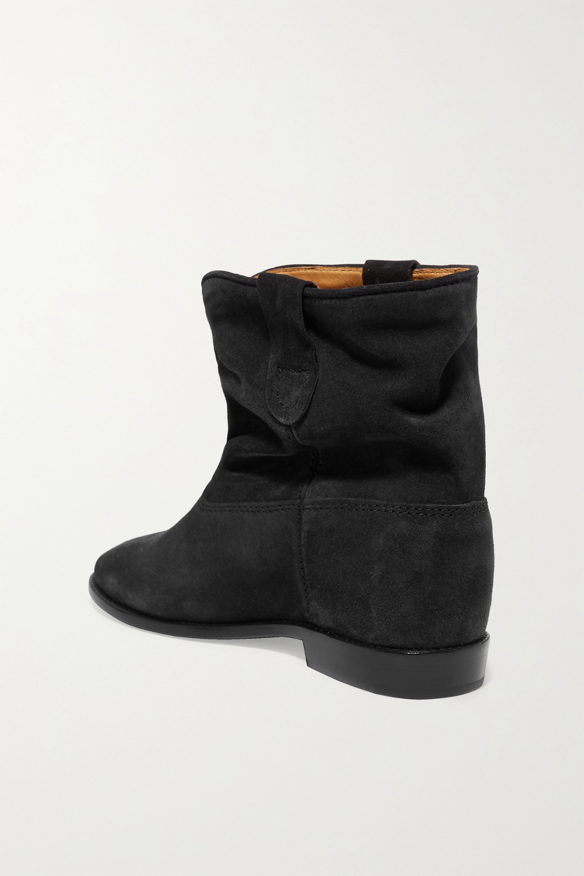 Black Crisi Suede Ankle Boots | Isabel Marant