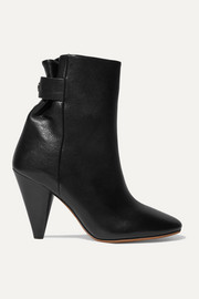 Lystal leather ankle boots
