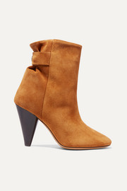Lystal suede ankle boots