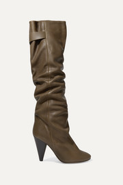 Isabel Marant Lacine leather knee boots