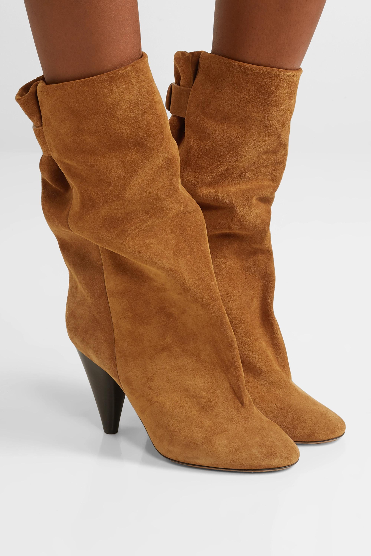 Isabel Marant Lakfee suede boots