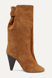 Isabel Marant Lakfee suede boots