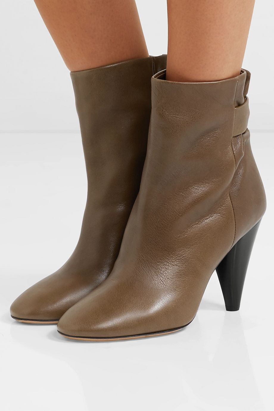 Isabel Marant Lystal leather ankle boots