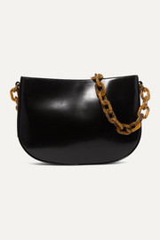 Pelle large leather shoulder bag