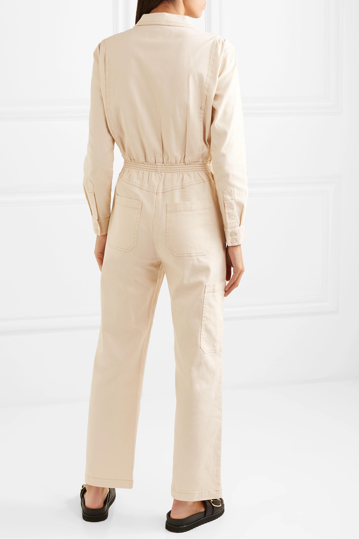 L.F.Markey Danny cotton-blend drill jumpsuit