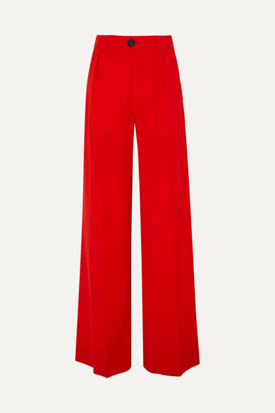 Kwaidan Editions WOOL-BLEND WIDE-LEG PANTS