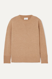 Allude Wool and cashmere-blend sweater