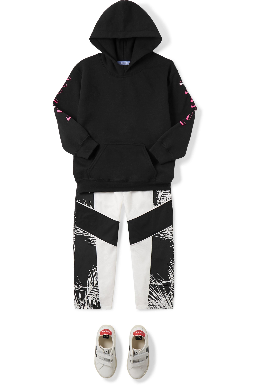 Paradised Kids Sweat à capuche en jersey imprimé