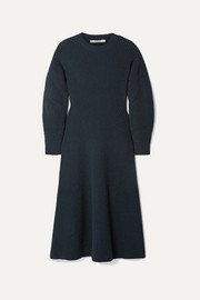 Givenchy Ribbed wool-blend midi dress