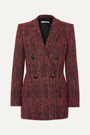 Givenchy Double-breasted bouclé-tweed blazer