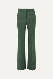 Givenchy Checked wool straight-leg pants