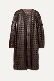 Bottega Veneta Ledermantel