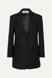 Valentino Silk and wool-blend blazer