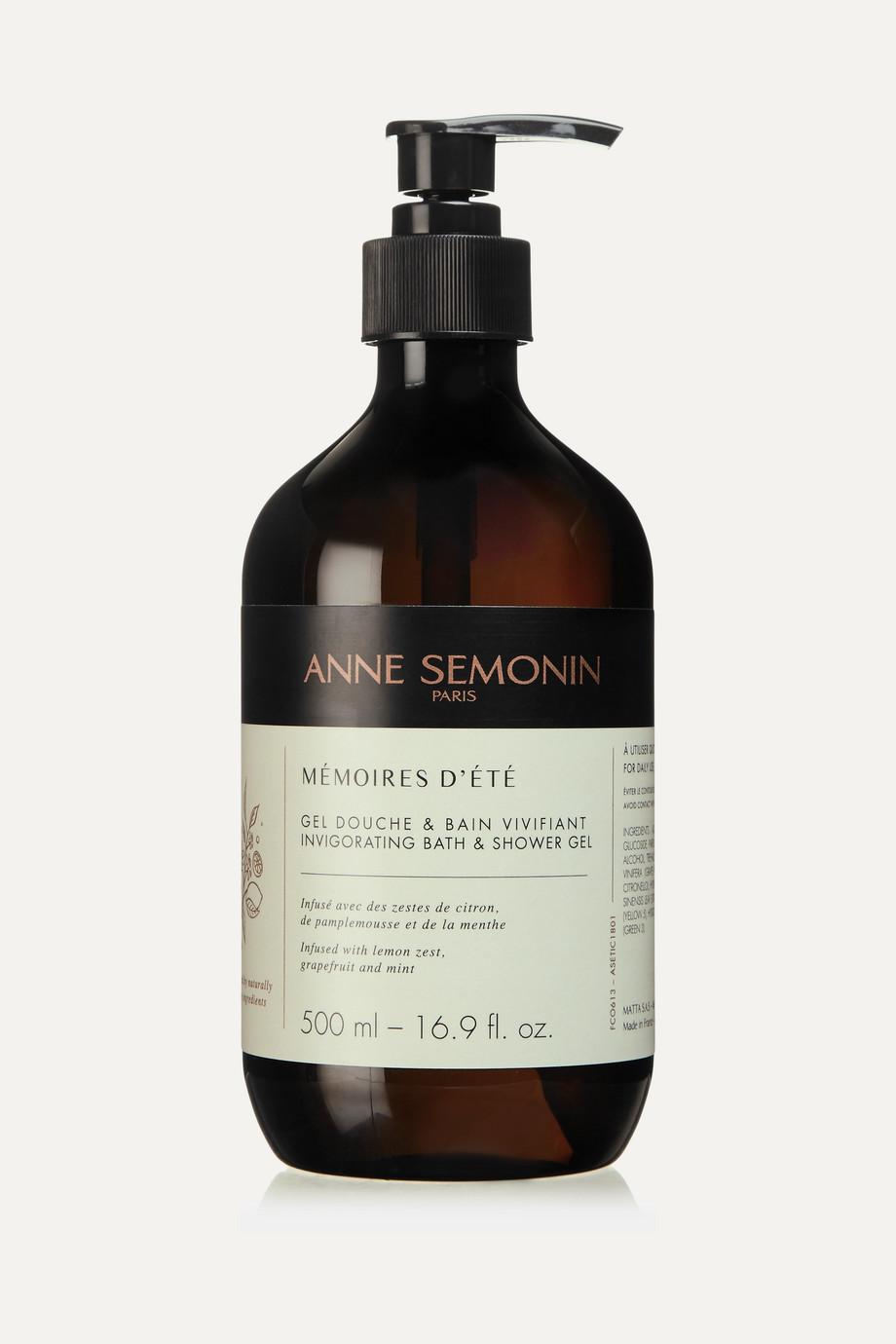Anne Semonin Mémoires d'Été Invigorating Bath & Shower Gel - 500ml