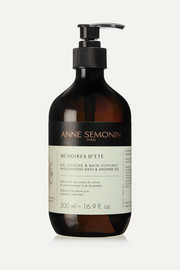 Anne Semonin Mémoires d'Été Invigorating Bath & Shower Gel - 500ml