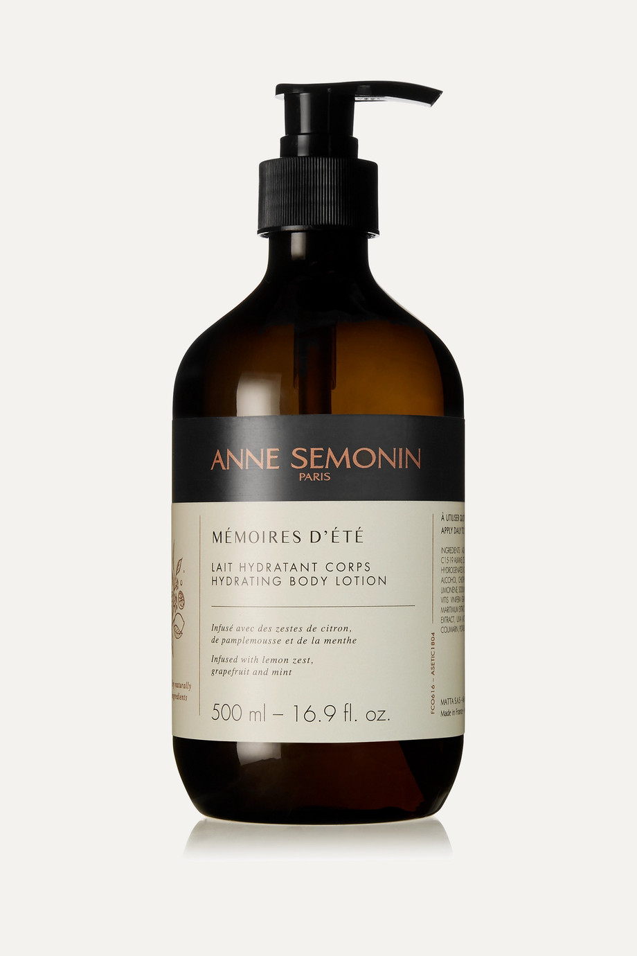 Anne Semonin Mémoires d'Eté Hydrating Body Lotion, 500ml