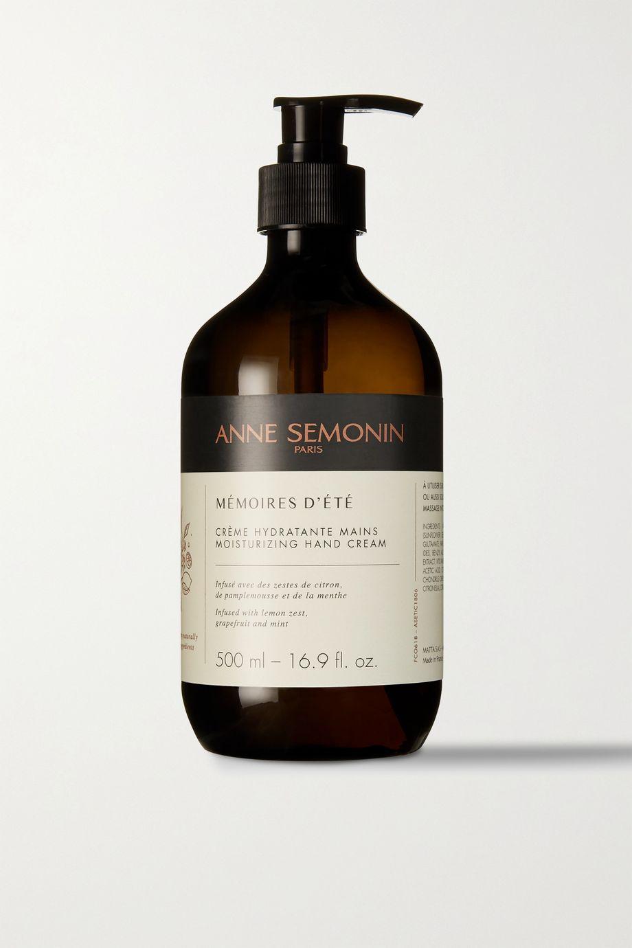 Anne Semonin Mémoires d'Été Moisturizing Hand Cream, 500 ml – Handcreme