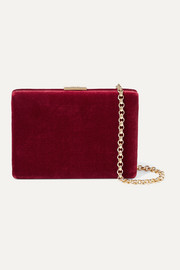 Anya Hindmarch Mini velvet shoulder bag
