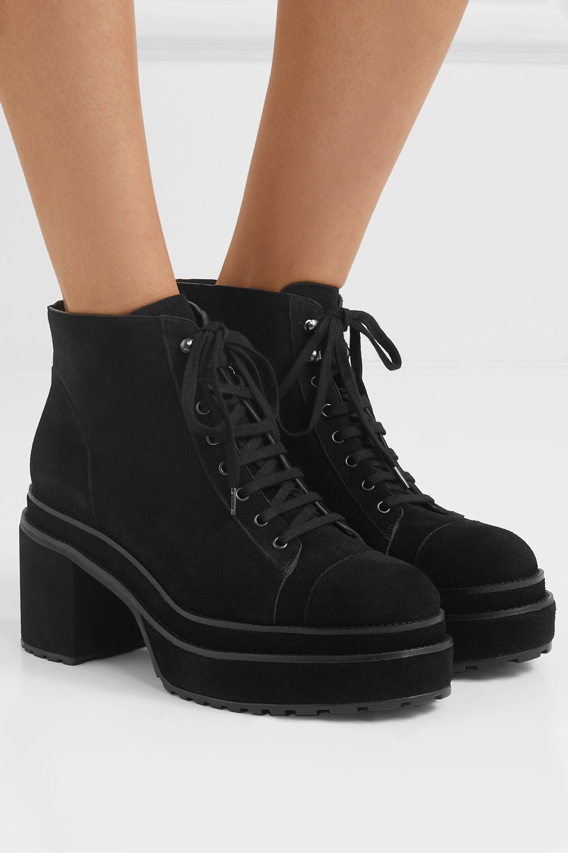 Cult Gaia Bratz suede ankle boots