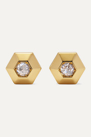 Collection 18-karat gold diamond earrings