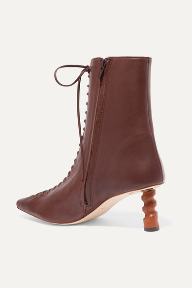 Rejina Pyo Boots Simone leather ankle boots