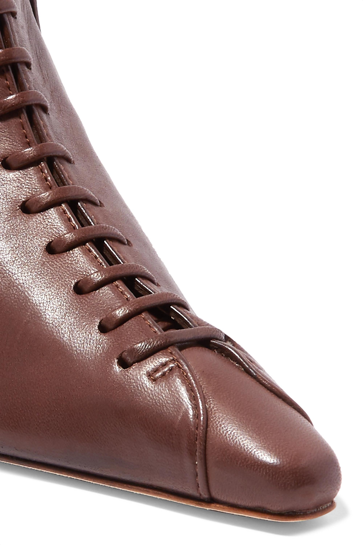 REJINA PYO Simone leather ankle boots