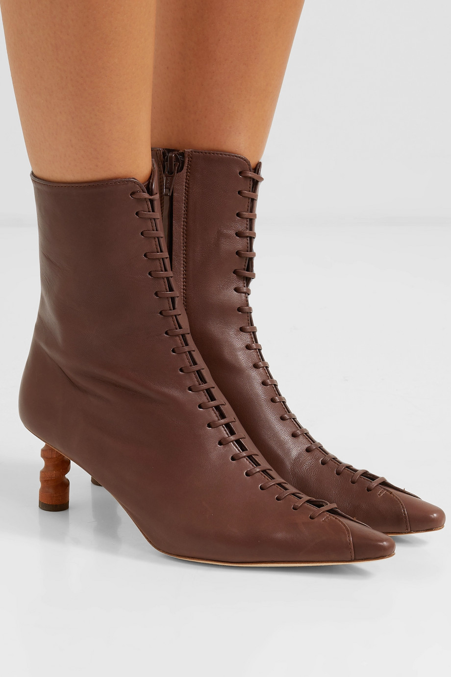 REJINA PYO Simone leather ankle boots