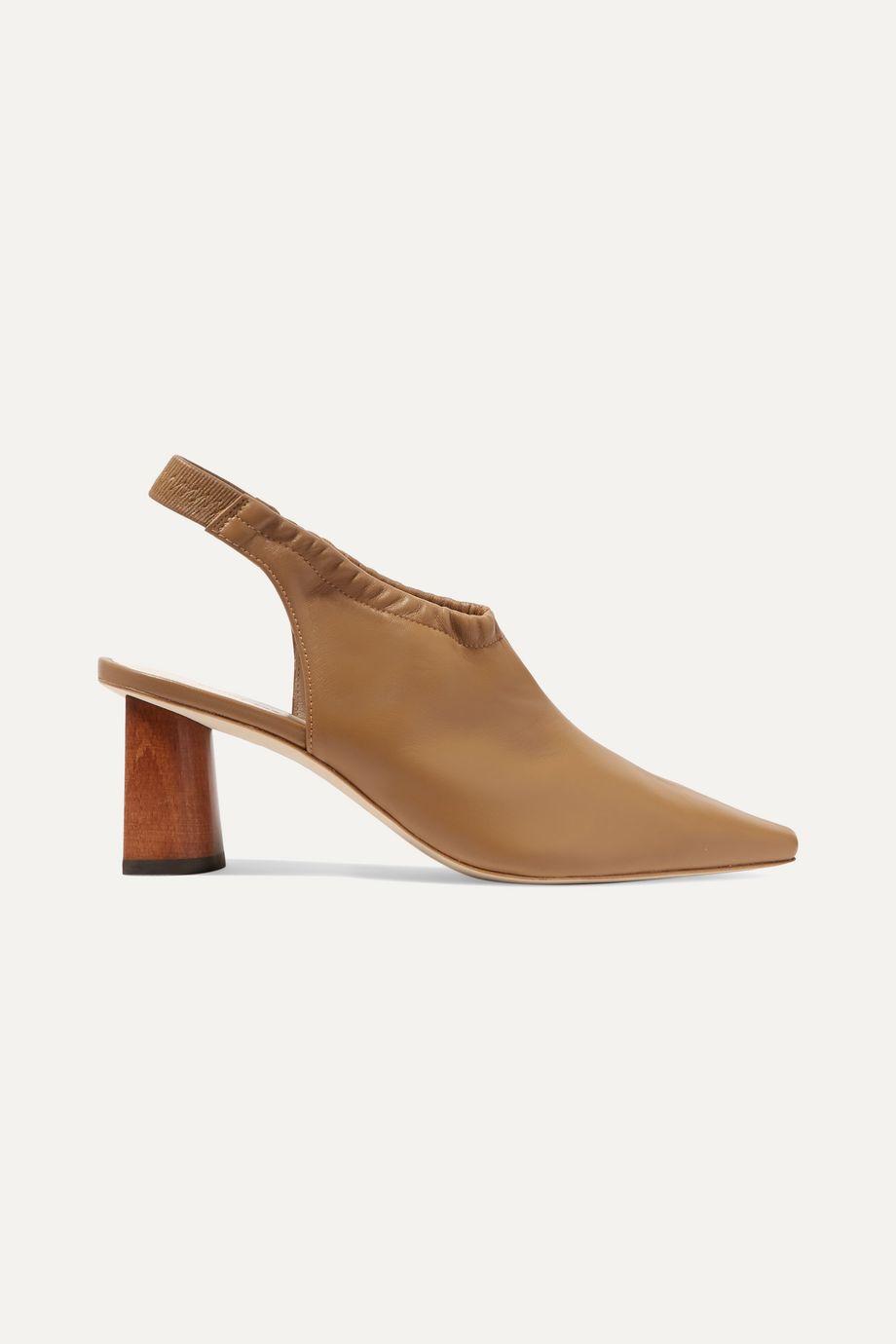REJINA PYO Riley leather slingback pumps