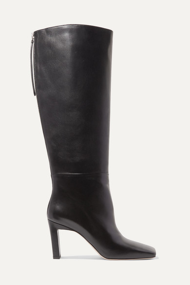 Isa Leather Knee Boots by Wandler
