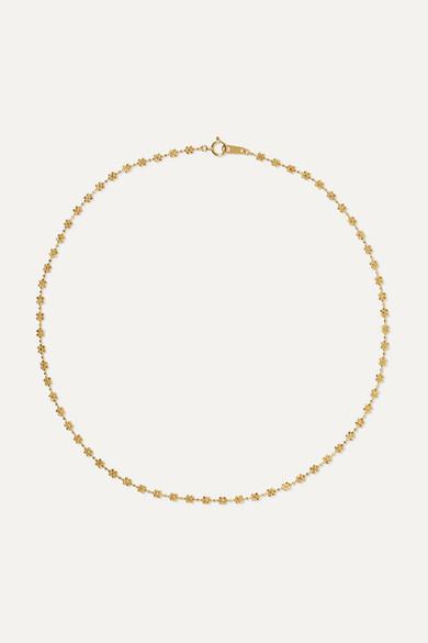 18 Karat Gold Necklace by Poppy Finch