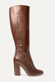 Sophie leather knee boots