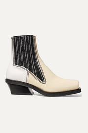 Proenza Schouler Paneled leather ankle boots