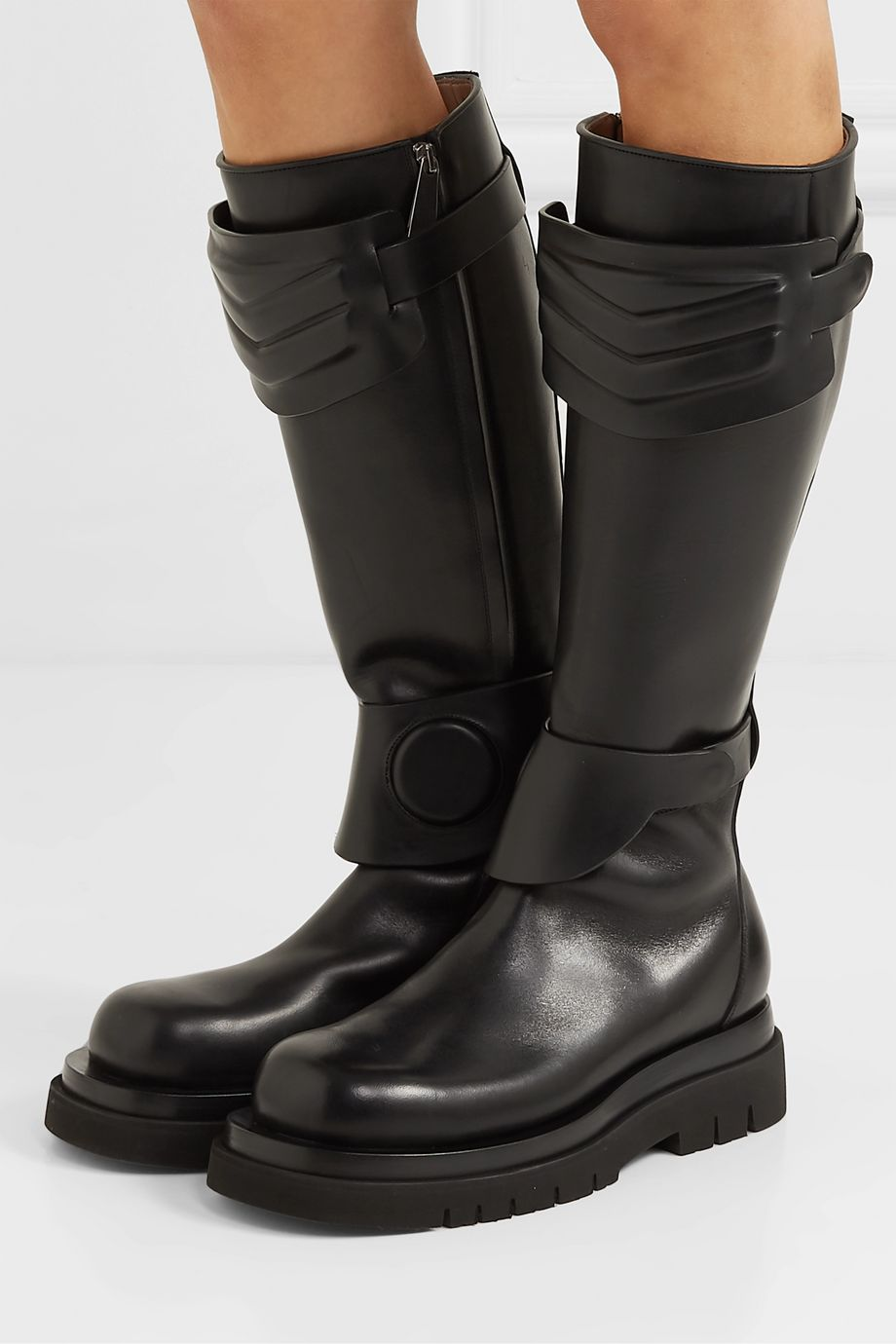 Bottega Veneta Leather knee boots