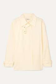 LOW CLASSIC Layered cotton shirt