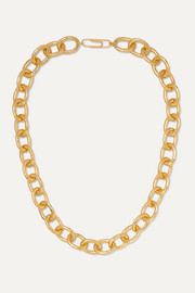 Manon gold-plated necklace