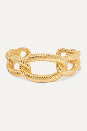 Amarée gold-plated cuff