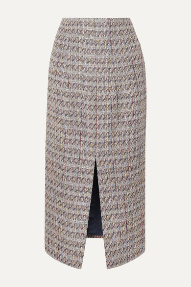 Metallic Tweed Skirt by Brock Collection