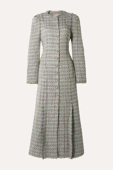 Metallic Tweed Coat by Brock Collection