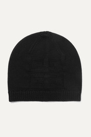 Givenchy Wool-jacquard beanie