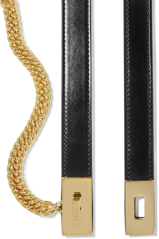 Givenchy Taillengürtel aus Leder mit Verzierung
