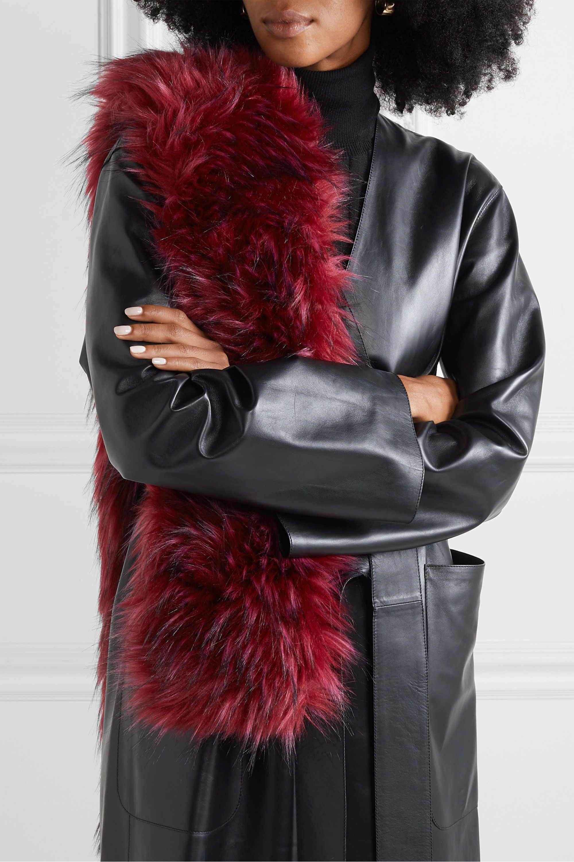 Gucci Faux fur scarf