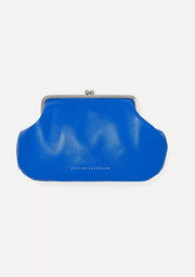 Pocket leather clutch