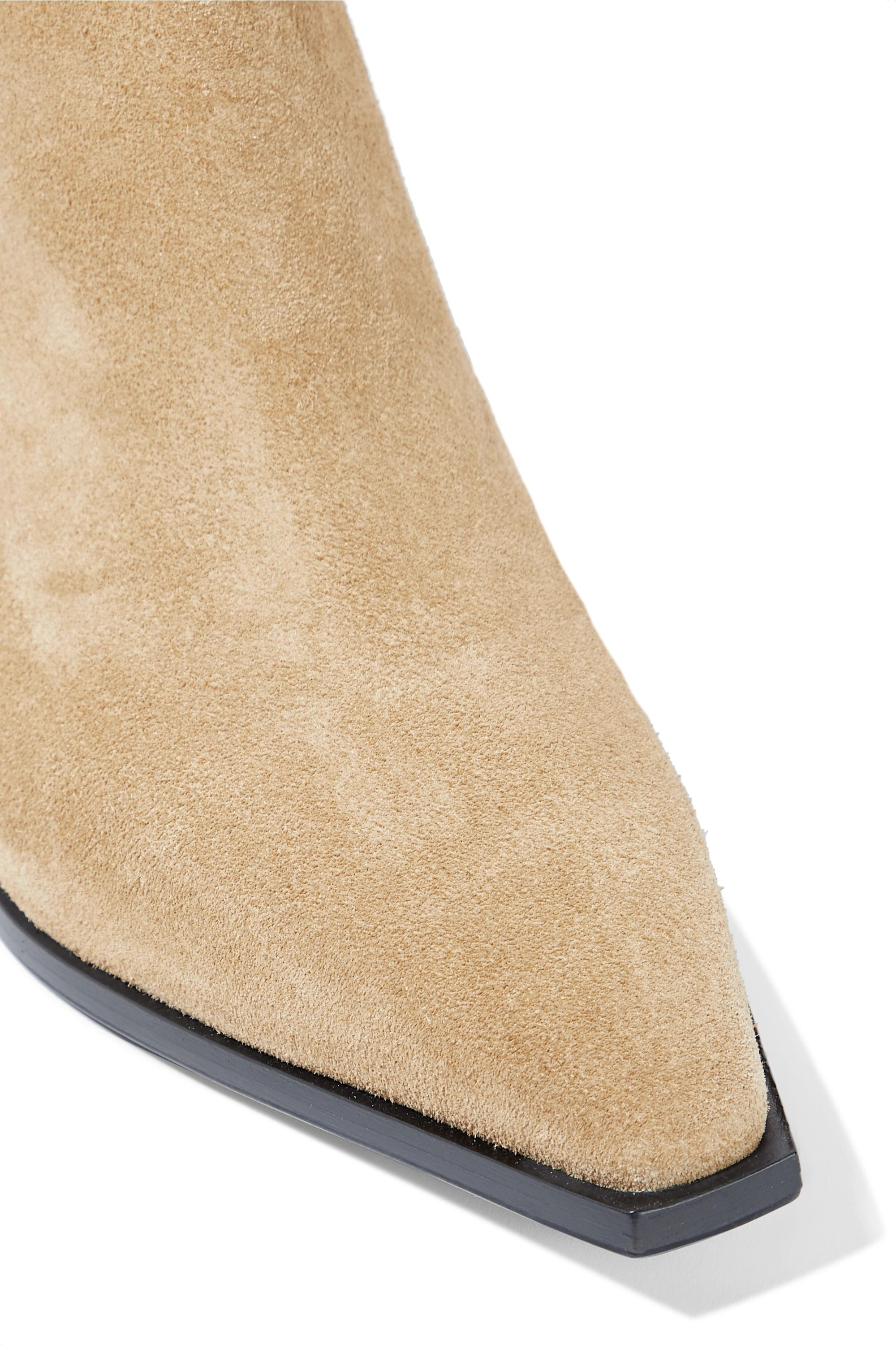 aeyde Kate suede ankle boots