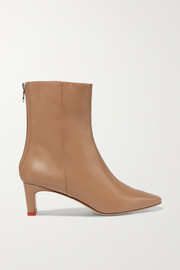 Ivy leather ankle boots