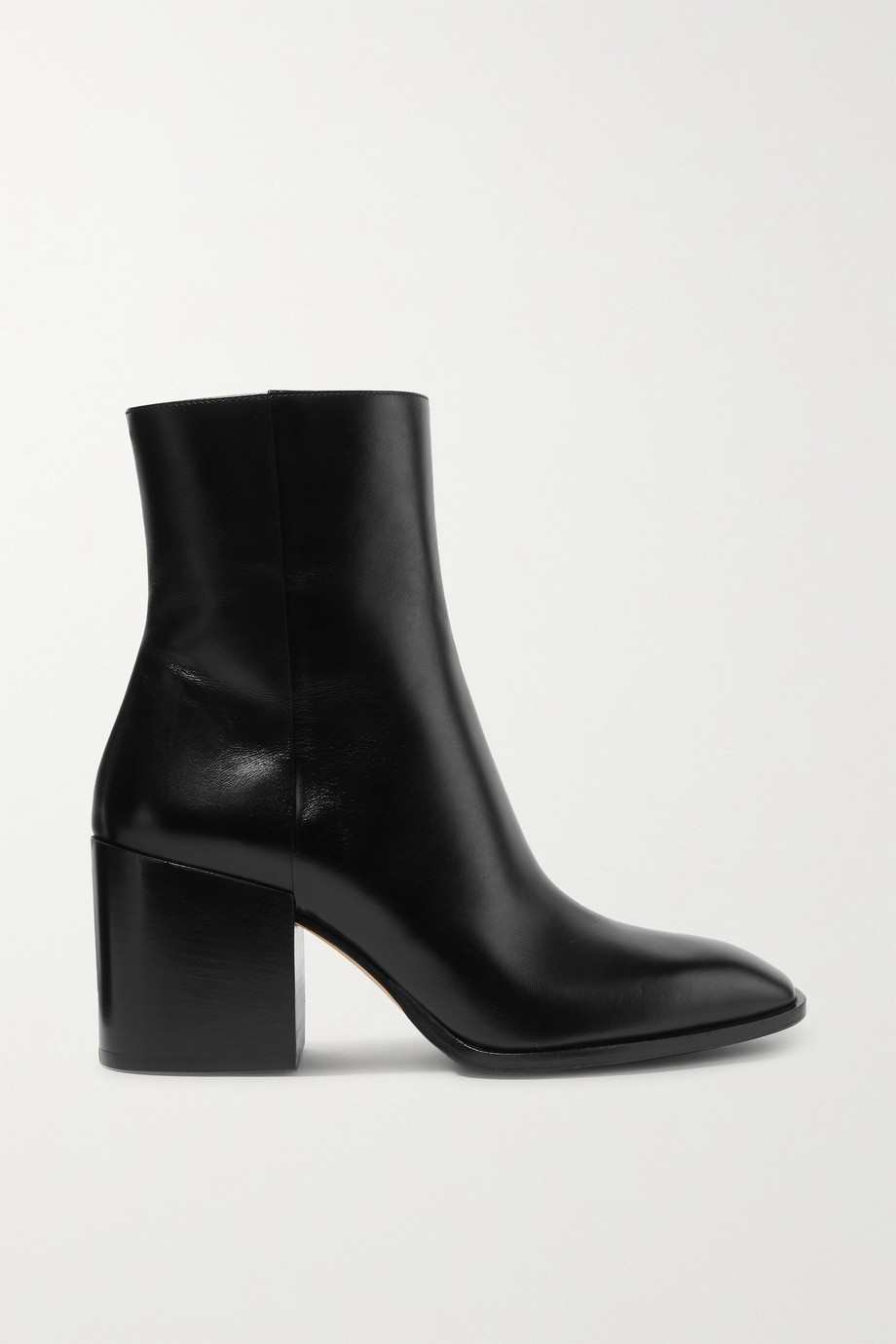 aeyde Leandra leather ankle boots