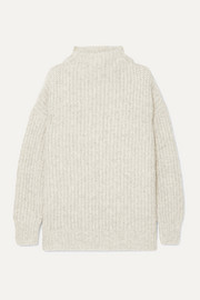Lauren Manoogian Fisherwoman alpaca and organic cotton-blend sweater
