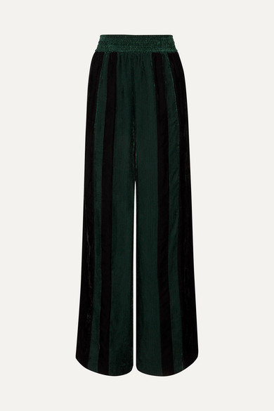 sophie-striped-corduroy-wide-leg-pants by golden-goose